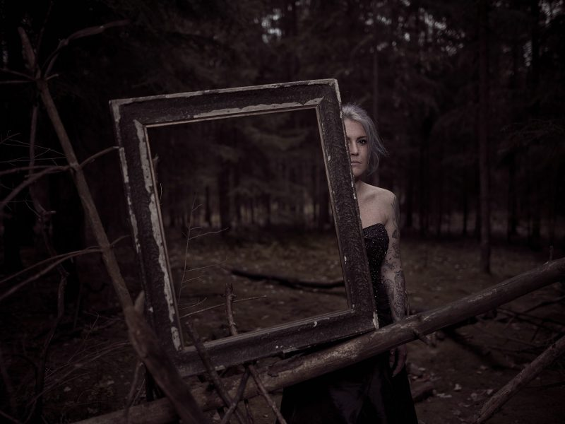 Maria im Wald