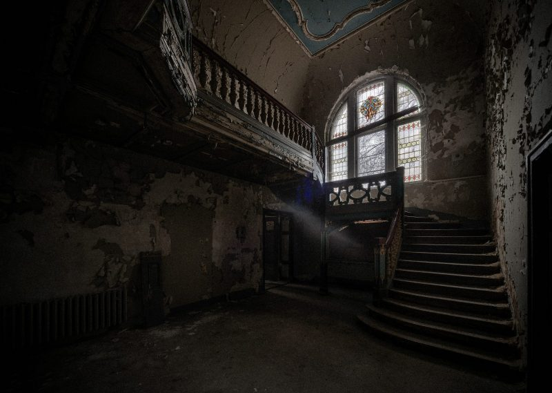 Das verlassene Rittergut